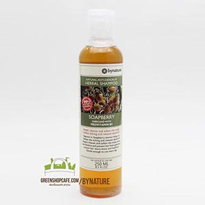bynature | hair & body care  แชมพูมะคำดีควาย  Soapberry Herbal Shampoo