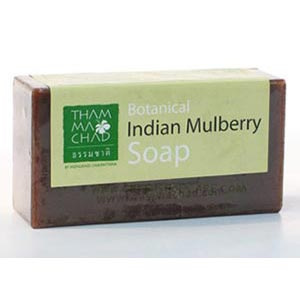 สบู่ลูกยอ  Indian Mulberry Soap 100 g. Maitre Savon de Marseille
