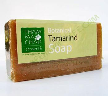 สบู่มะขาม  Tamarind Soap 100 g.