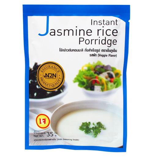 โจ๊กข้าวหอมมะลิ รสผัก (เจ) 35 g.
