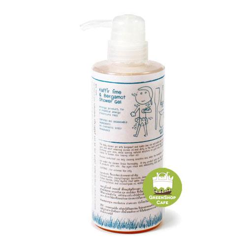 อีโค-ไบโอ สบู่เหลวอาบน้ำมะกรูด ขนาด 450 มล.