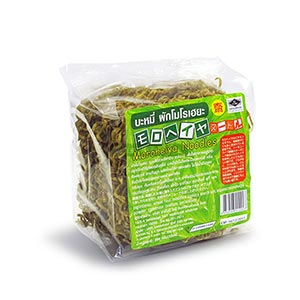 [6 ซอง] บะหมี่ผักโมโรเฮยะ เจ รสเห็ดหอม 75 g.