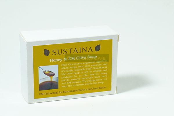 สบู่อีเอ็ม น้ำผึ้ง-น้ำมันมะกอก 110 g.