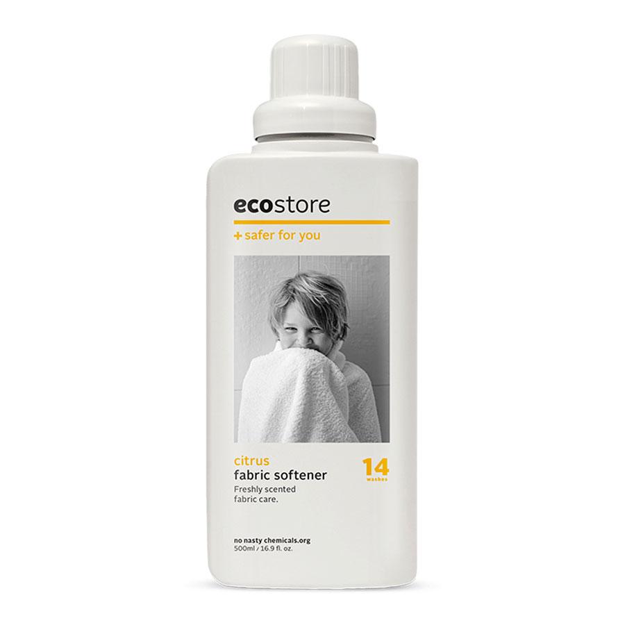 น้ำยาปรับผ้านุ่ม ปลอดสารเคมี กลิ่นส้มซีตรัส 500 มล.