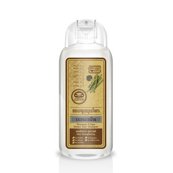 เขาค้อทะเลภู แชมพูสมุนไพร บอระเพ็ด 200 ml. Tinospora Crispa Shampoo - Hair Strengthening ผมแข็งแรง สุขภาพดี