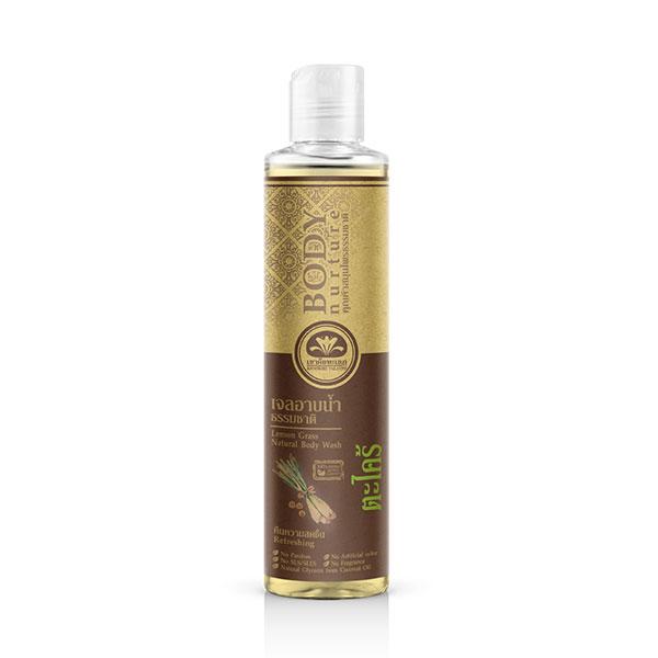 เขาค้อทะเลภู เจลอาบน้ำ ตะไคร้บ้าน Lemon Grass Natural Body Wash 210 ml. คืนความสดชื่น - Refreshing