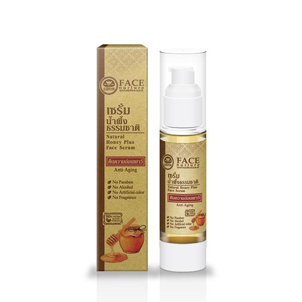 เขาค้อทะเลภู เซรั่มน้ำผึ้งธรรมชาติ 50 มล. Natural Honey Plus Face Serum - Anti-Aging