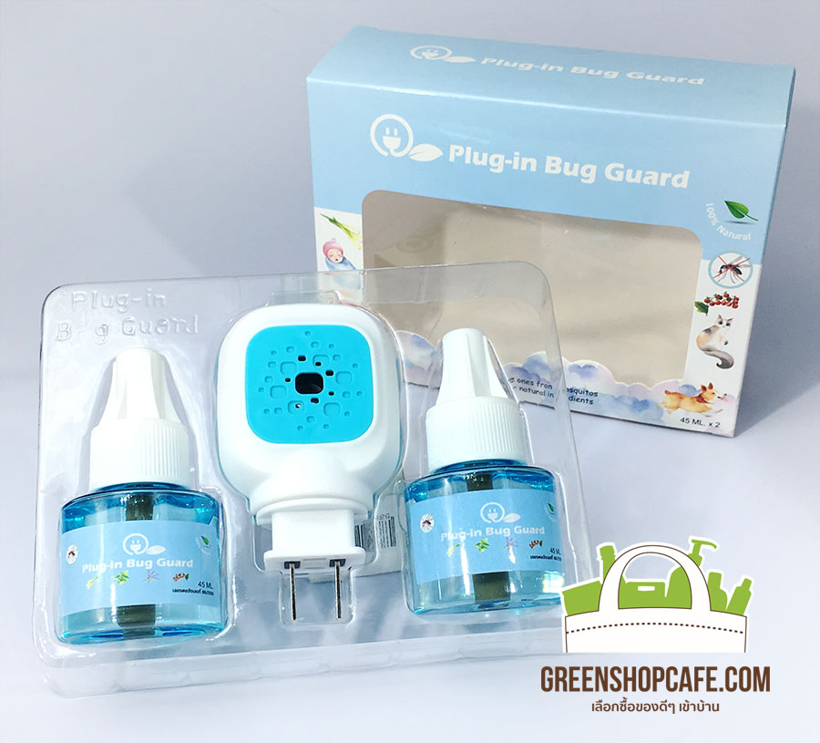 Plug-in Bug Guard เครื่องไล่ยุงชนิดน้ำ (Electric insect reppellent Plug-in-Bug Guard) Plug-in bug guard