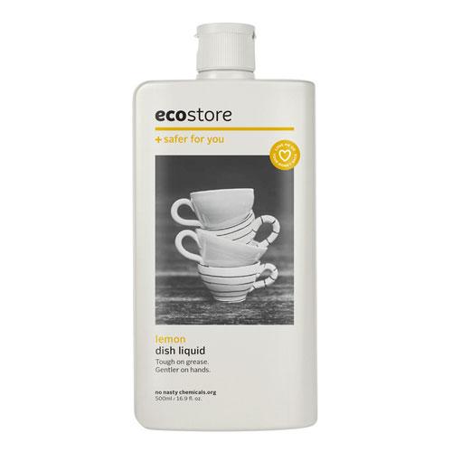 น้ำยาล้างจาน ปลอดสารเคมี กลิ่นมะนาว 500 มล.