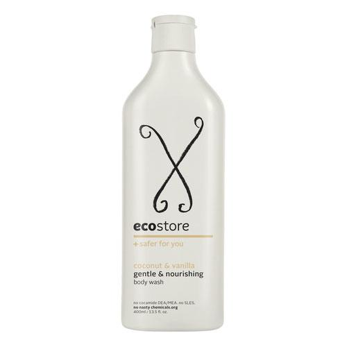 ครีมอาบน้ำสูตรธรรมชาติ กลิ่นมะพร้าว-วานิลลา 400 มล.