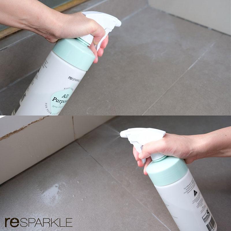 รี-สปาร์คเคิล น้ำยาทำความสะอาดกระจกและห้องน้ำ ออร์แกนิค 500 ml.